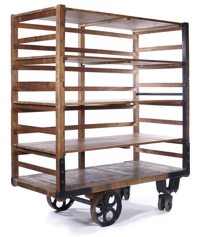 Industrial Bread Cart Bar A La Crate Vintage Rentals