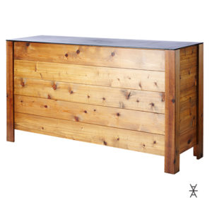 ALaCrate-Rentals-MadeInWisconsin-Bar-Cedar-Shiplap-Angle-Black-Top-Events