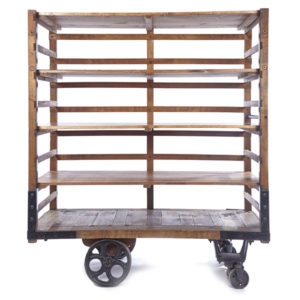 ALaCrate-Rentals-Vintage-Bread-Cart-Dessert-Display-Back-Bar-Weddings-Events-WI-Table Rental Wisconsin