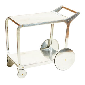 ALaCrate-Rentals-Vintage-Cart-Aluminum-Tea-Angle-Wisconsin-Display-TeaCartRental