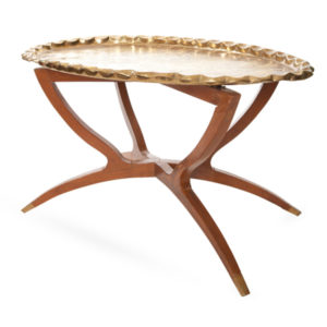 ALaCrate-Rentals-Vintage-Table-Gold-Coffee-Table-Collapsible-Lounge