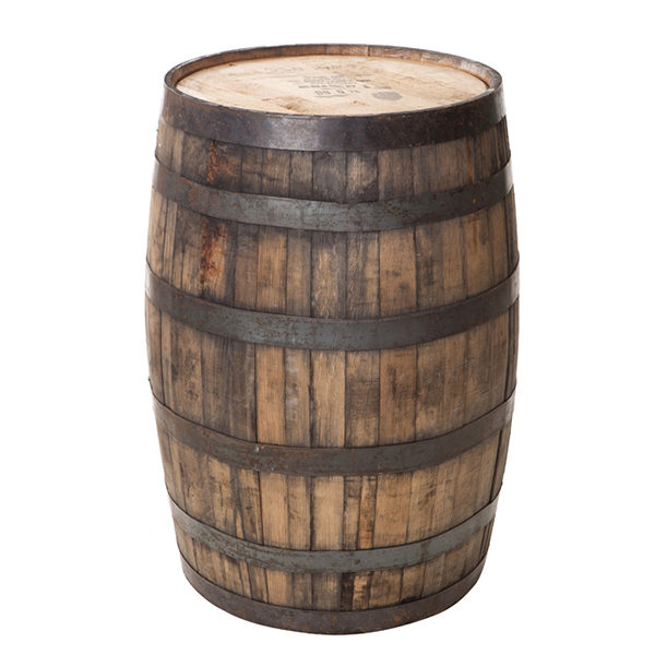 ALaCrate-Rentals-Whiskey-Barrel-Rustic-Cocktail-Table-Wisconsin. Whiskey Barrel Rental