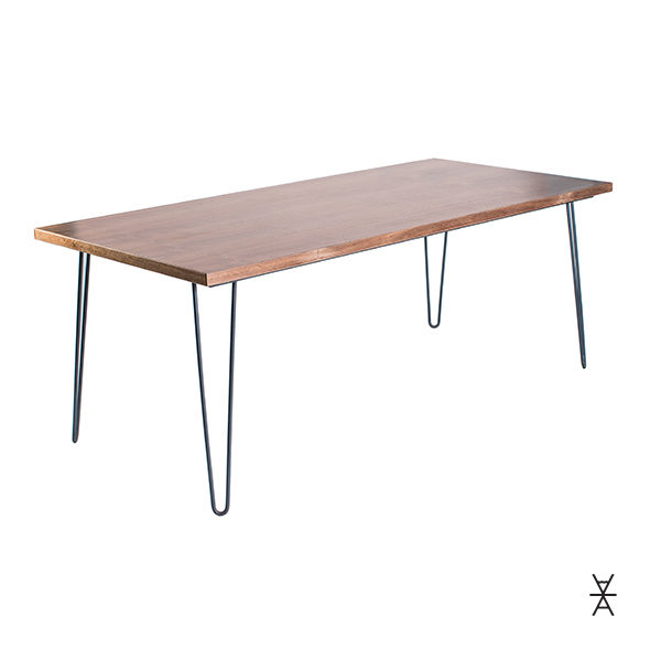 ALaCrate-Table-Rentals-Madison-Wisconsin-Hairpin-Walnut-Made-Metal-Wood