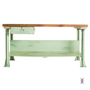ALaCrate-Vintage-Rentals-Wood-Light-Green-Workbench-Table-Bar-Event-Wedding