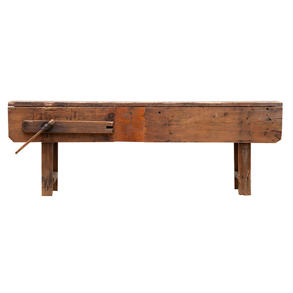 ALaCrate-Vintage-Rentals-Wood-Table-Rentals-Workbench-Vise-Rustic-Side-Bar-Accent-Wedding-Event-Wisconsin