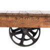 ALaCrate-Rentals-Vintage_Industrial-Cart_Side-Coffee-Table-Lounge-Wisconsin
