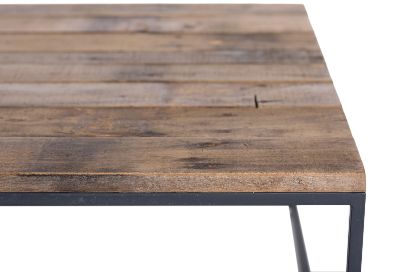 Metal Wood Industrial Coffee Table Rentals | Furniture ...