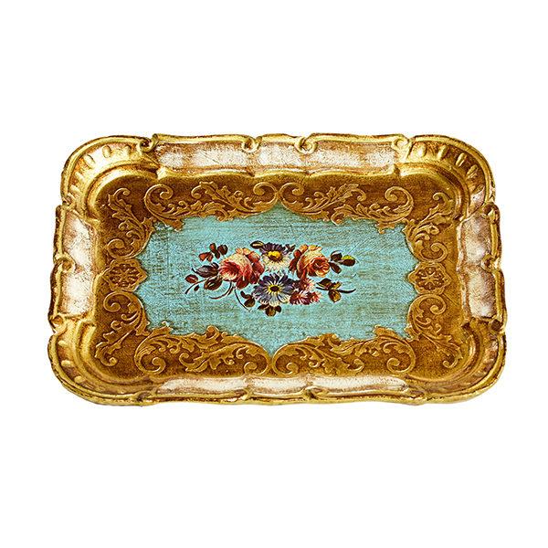 ALaCrate-Rentals-Florentine-Tray-E-BlueFloral-Small