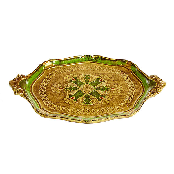 ALaCrate-Rentals-Florentine-Tray-F-Green
