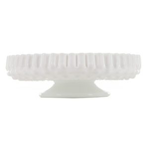 ALaCrate-Rentals-Platter-White-Hob-Nail-Cake-Plate-Stand-Wedding-Vintage-Display-Decor