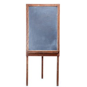 ALaCrate-Rentals-Vintage-Chalkboard-Standing-Board-With-Tray-L-Wedding-Wisconsin