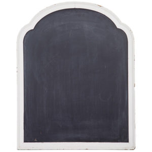 ALaCrate-Rentals-Vintage-Chalkboard-White-Dresser-Scroll-M-Wedding-Wisconsin
