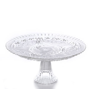 ALaCrate-Rentals-Vintage-Glass-Pie-Plate-Cake-Stand-Wedding-Decor
