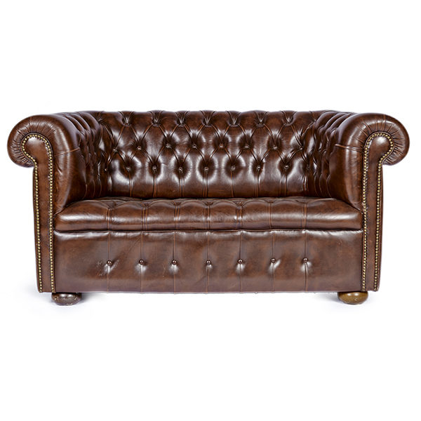 Alacrate Als Vintage Leather Field Chesterfield Sofa Furniture