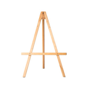 ALaCrate-Rentals-Vintage-Low-Wood-Easel-Display-Wisconsin