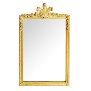 ALaCrate-Rentals-Vintage-Mirror-Gold-Feather-L-Wedding-Signage-Wisconsin