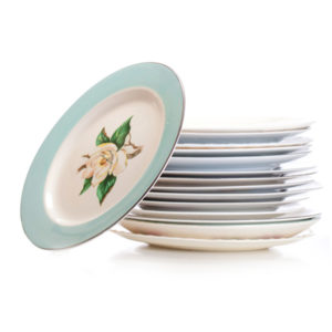 ALaCrate-Rentals-Vintage-Mismatched-China-Plates-Dinner-Wisconsin