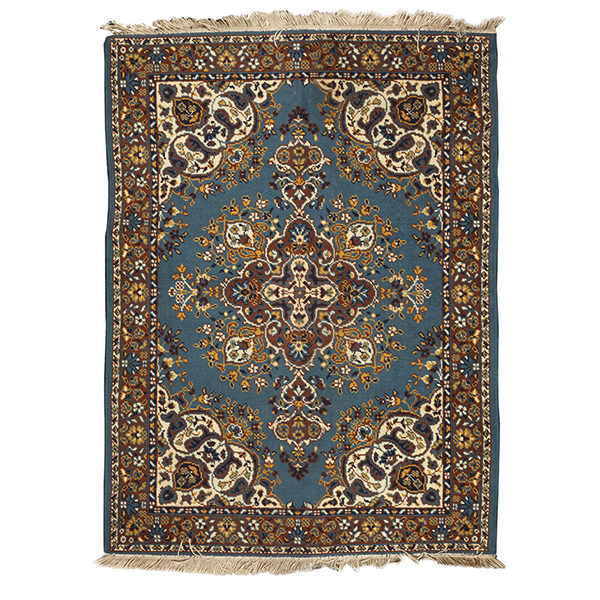 ALaCrate-Rentals-Vintage-Rug-Blue-Gold-Medium-Ceremony-Lounge-Wedding