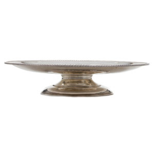 ALaCrate-Rentals-Vintage-Silver-Lazy-Susan-Serving-Tray-Round-Wedding