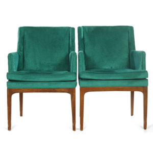 ALaCrate-Rentals-Vintage-Velvet-Chairs-Teal-MCM-Pair-Wedding-Lounge