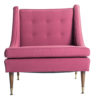 ALaCrate-Rentals-Chair-Berry-MCM-Matching-Pink-Rose-Side-Chair-Wedding Lounge Area