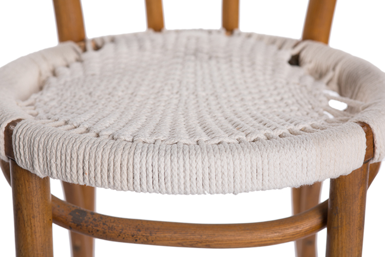 ALaCrateRentals Chair Woven Seat_frontdetail