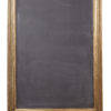 ALaCrateRentals-Easel-WoodPeg-Example-with our gold narrow xl chalkboard