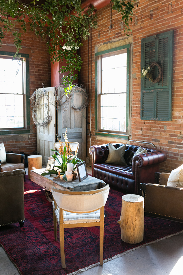 Emilia Jane Photography of 65th birthday party in Chicago using some of our lounge area furniture rentals