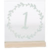 ALaCrate-Rentals-Table-Numbers-Glass-Wood-Base-Weddings-Wisconsin