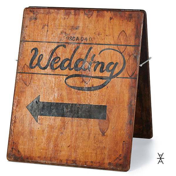 ALaCrateRentals-Pre-Written-Wedding-Directional-Sign