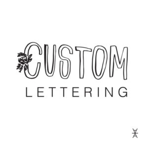 A La Crate Rentals Partners with TaborMade Design for Custom Lettering on Signage Rental Needs. Madison Wisconsin