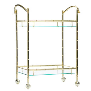 A-La-Crate-Rentals-Cart_brass-bamboo-glass-angle-beverage-cart-rentals-wisconsin-tea-carts-madison-wi