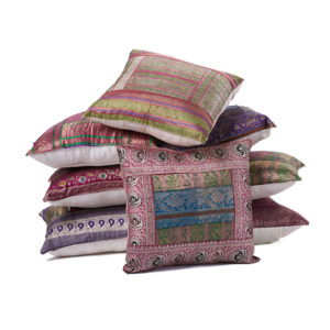 Sari, not sorry. These pillows will soften your space with bold texture and color pops.