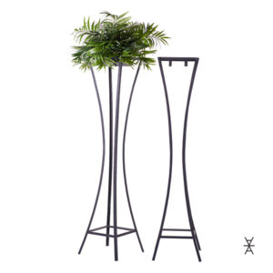 Metal plant stand for rentals. Think backdrops and aisle accents!