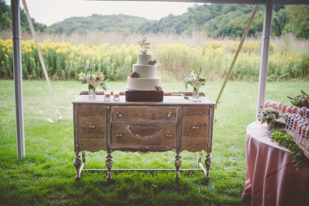ALaCrateRentals-Twig-&-Olive-White-Buffet-Hot-Air-Balloon-Wedding