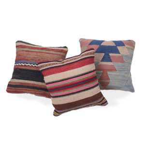 3 pillow set, geometric rentals