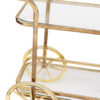 Vintage Brass Cart Event Rental Madison Wisconsin