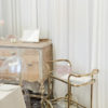 Bar cart for signature cocktails, rentals for your happily Ever After.