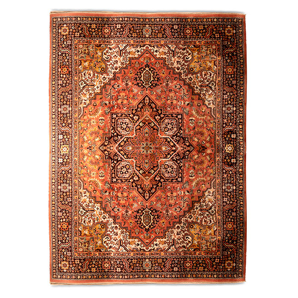 Vintage Rug Rental Madison Wisconsin - Apricot Spice