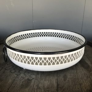 White Black Bowl Basket Outdoor Rentals Madison WI