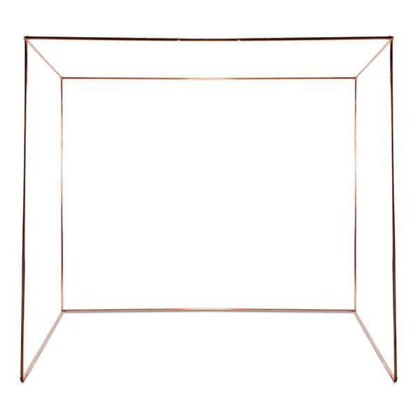 Copper Chuppah Backdrop Rental Madison WI A La Crate Rentals