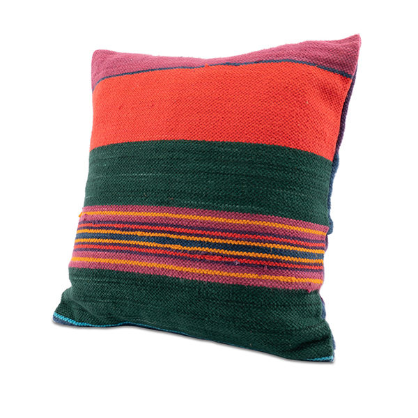 African Loom Woven Pillow Rental Madison Wisconsin A La Crate Rentals