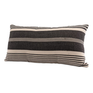 Black White Farmhouse Lumbar Pillow Rental Madison Wisconsin Event Lounge Rentals A La Crate Rentals