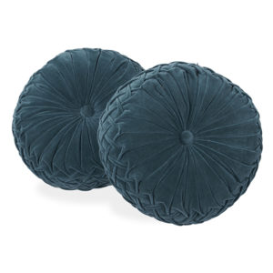 Round pillow rentals for soft seating