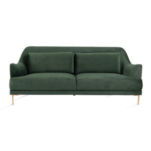 Evergreen Velvet Sofa Rental Madison WI A La Crate Rentals Wisconsin Event Rentals