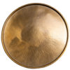 Hammered brass surface texture coffee table rentals madison wisconsin wi a la crate rentals