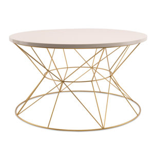 White Gold Geometric Round Table Rental Madison WI A La Crate boutique rentals vintage wedding rentals glam