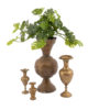 Rent these huge brass vases for your next event! Brass vase rental madison wisconsin