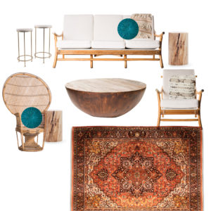 Boho Lounge Rentals | A La Crate Rentals Madison Wisconsin | Boutique | Vintage | Event Rentals