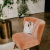 Lovey Dovey Lounge at Wisconsin Bride Best of 2019 Awards Show | Best Rental + Decor A La Crate Rentals Wisconsin Boutique Event Rentals